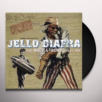 Jello Biafra BIG KA-BOOM 1 Vinyl Record