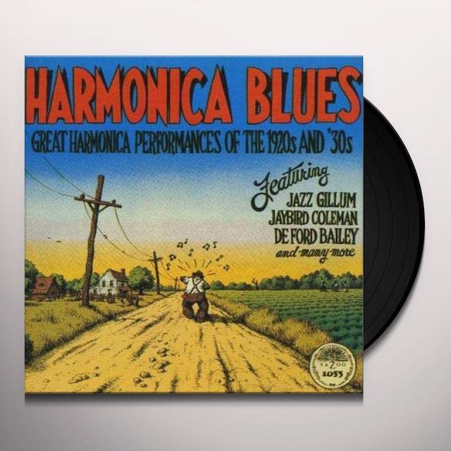 Harmonica Blues GREAT HARMONICA PERFORMANCES OF THE 1920'S & 30'S Vinyl Record