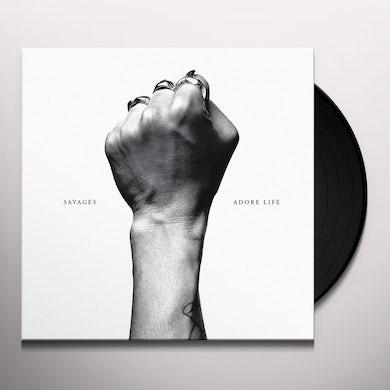 Savages ADORE LIFE Vinyl Record