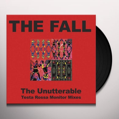 Fall Unutterable: Testa Rossa Monitor Mixes Vinyl Record