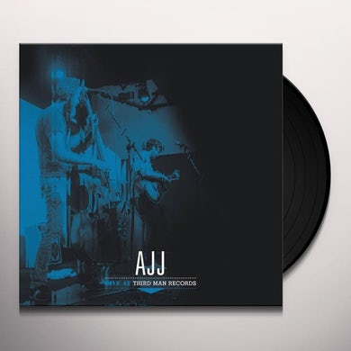 AJJ LIVE AT THIRD MAN RECORDS Vinyl Record