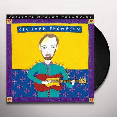 Richard Thompson RUMOR & SIGH Vinyl Record