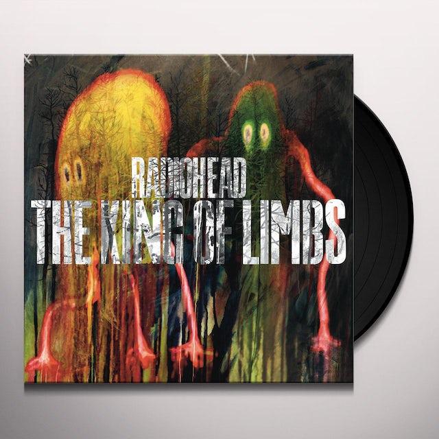 Radiohead KING OF LIMBS Vinyl Record - 180 Gram Pressing