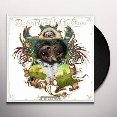 Destroy Rebuild Until God Shows SELF TITLED AKA D.R.U.G.S Vinyl Record