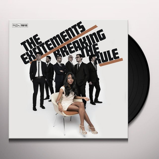 The Excitements BREAKING THE RULE Vinyl Record