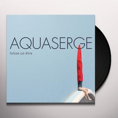 Aquaserge  LAISSE CA ETRE (LET IT BE) Vinyl Record
