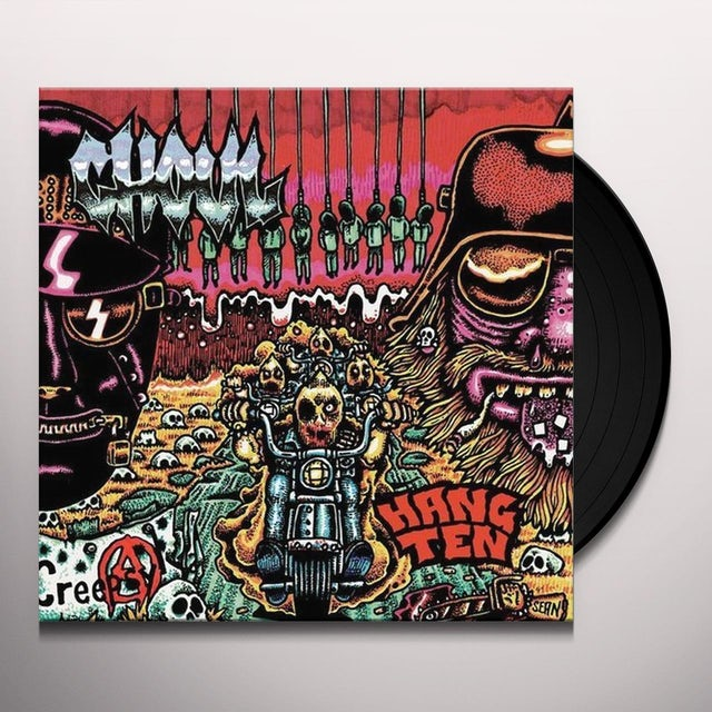 Ghoul HANG TEN Vinyl Record