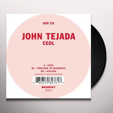 John Tejada CEOL Vinyl Record
