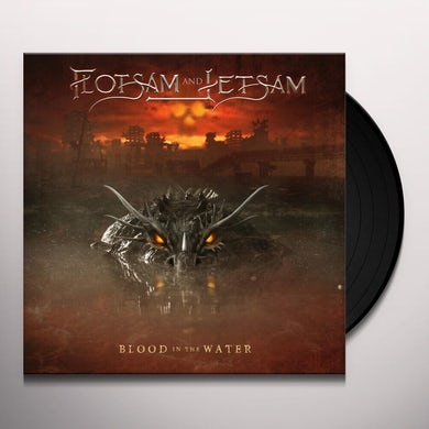 Flotsam & Jetsam BLOOD IN THE WATER (CLEAR YELLOW VINYL) Vinyl Record
