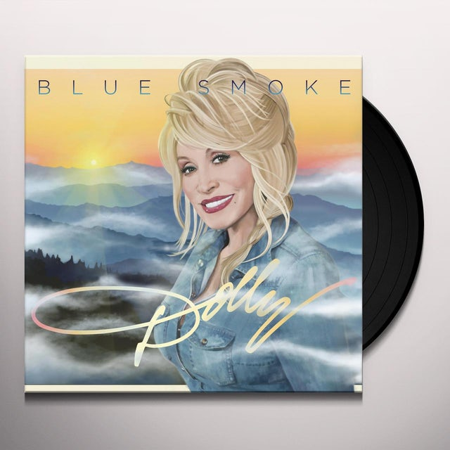 Dolly Parton Vinyl | Blue Smoke 180 Gram Pressing