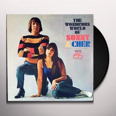WONDEROUS WORLD OF SONNY & CHER (45RPM) Vinyl Record
