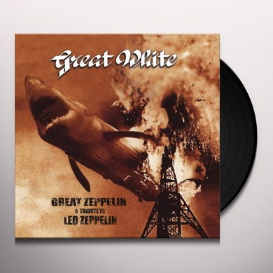 Great White GREAT ZEPPELIN - A TRIBUTE TO LED ZEPPELIN Vinyl Record