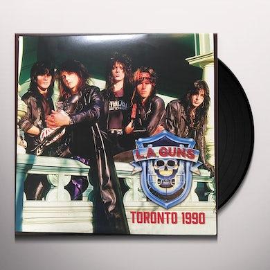 LA Guns  Toronto 1990 (Red & Blue Vinyl) Vinyl Record