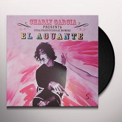 Charly Garcia Pena EL AGUANTE Vinyl Record