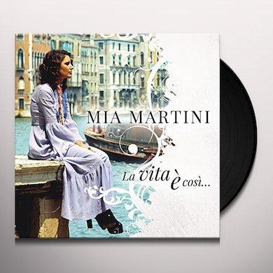 Mia Martini LA VITA E COSI: BEST OF Vinyl Record
