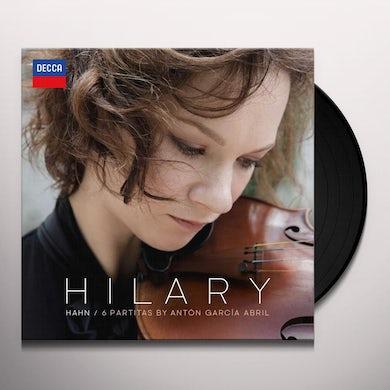 Hilary Hahn GARCIA ABRIL: 6 PARTITAS Vinyl Record