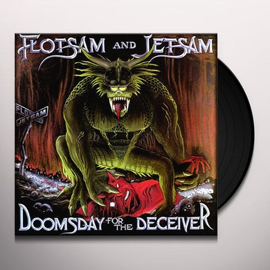 Flotsam & Jetsam DOOMSDAY FOR THE DECEIVER Vinyl Record