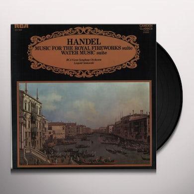 Handel ROYAL FIREWORKS SUITE Vinyl Record