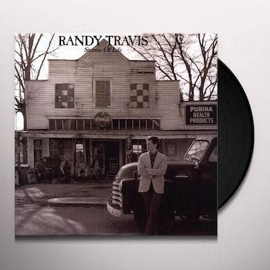 Randy Travis STORMS OF LIFE Vinyl Record