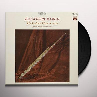 Jean Pierre Rampal GOLDEN FLUTE SONATA Vinyl Record