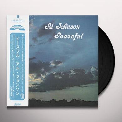 Al Johnson PEACEFUL Vinyl Record
