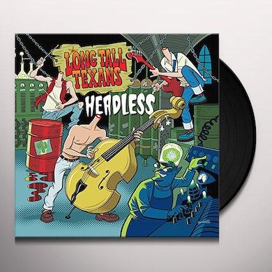 Long Tall Texans HEADLESS (BLUE VINYL) Vinyl Record