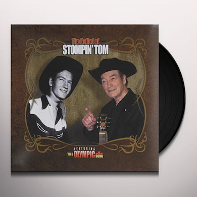 Stompin' Tom Connors BALLAD OF STOMPIN TOM Vinyl Record