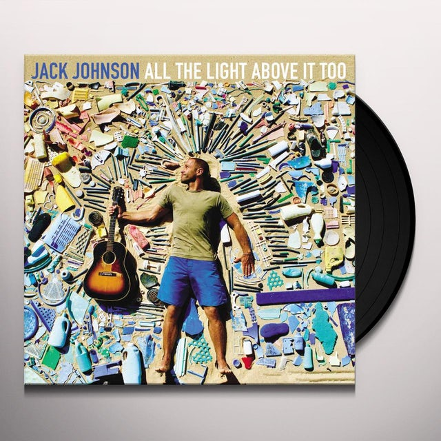 Jack Johnson All The Light Above It Too Vinyl Record