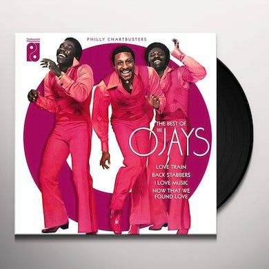 The O'Jays PHILLY CHARTBUSTERS: VERY BEST OF Vinyl Record