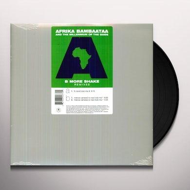 Afrika Bambaataa B MORE SHAKE Vinyl Record