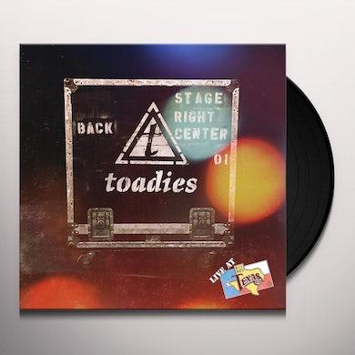 Toadies LIVE AT BILLY BOB'S TEXAS Vinyl Record