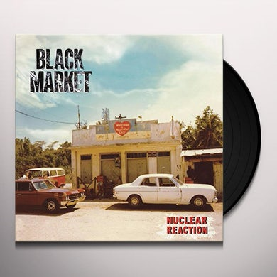 BLACK MARKET BAND NUCLEAR REACTION Vinyl Record