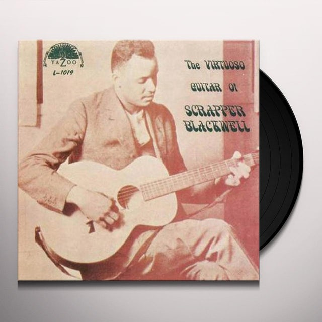 Scrapper Blackwell VIRTUOSO GUITAR OF Vinyl Record