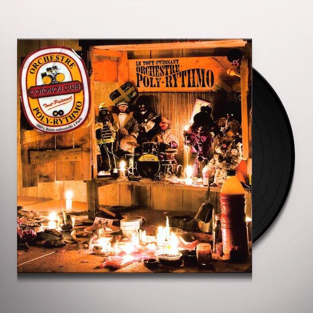 Orchestre Poly-Rythmo COTONOU CLUB Vinyl Record