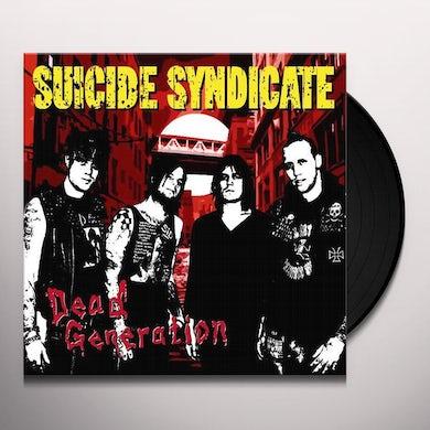 Suicide Syndicate DEAD GENERATION Vinyl Record