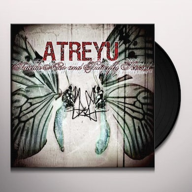 Atreyu Suicide Notes And Butterfly Kisses Vinyl Record