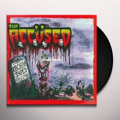 The Accused ARCHIVE TAPES Vinyl Record