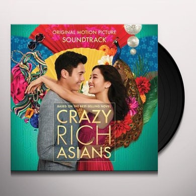 Crazy Rich Asians / O.S.T. Limited Edition Gold Colored Vinyl Record