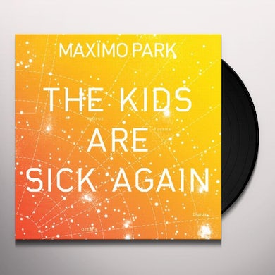 Maximo Park KIDS ARE SICK AGAIN (ORANGE) Vinyl Record