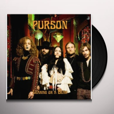 Purson LEANING ON A BEAR Vinyl Record - UK Release