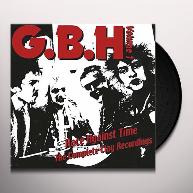 Gbh RACE AGAINST TIME: THE COMPLETE CLAY RECORDINGS 1 Vinyl Record