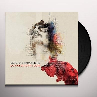 Sergio Cammariere LA FINE DI TUTTI I GUAI Vinyl Record