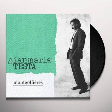 Gianmaria Testa MONTGOLFIERES Vinyl Record