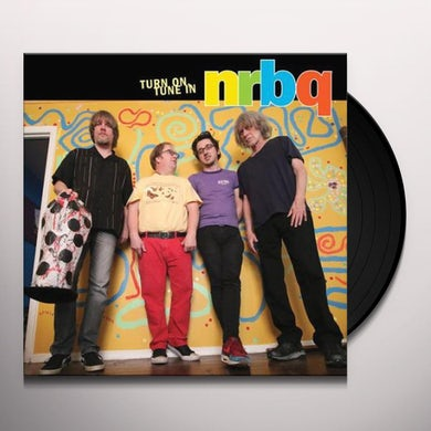 Nrbq TURN ON, TUNE IN (LIVE) Vinyl Record