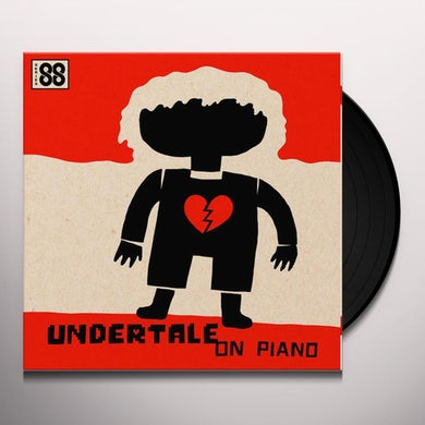 Augustine Mayuga Gonzales UNDERTALE ON PIANO (SERIES 88) / Original Soundtrack Vinyl Record