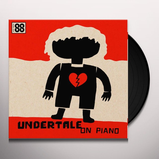 Augustine Mayuga Gonzales UNDERTALE ON PIANO (SERIES 88) / O.S.T. Vinyl Record