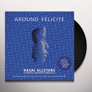 Kasai Allstars AROUND FELICITE - Original Soundtrack Vinyl Record