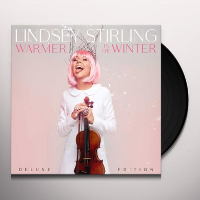 Lindsey Stirling WARMER IN THE WINTER Vinyl Record