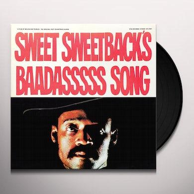 SWEET SWEETBACK'S BAADASSSSS SONG Vinyl Record