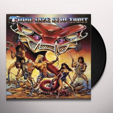 Thor LIVE IN DETROIT 1985 Vinyl Record